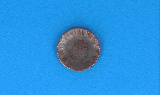 Cw0302 - Plato marrón