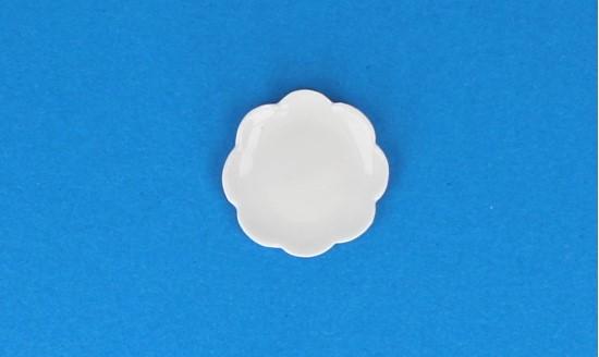 Cw0322 - Weißer Teller