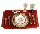 Re13765 - Blue royale dinner setting