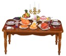 Re18340 - Decorated table