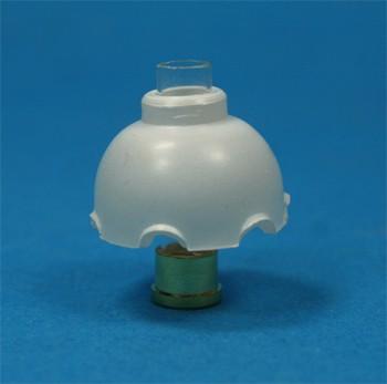 Tc2055 - Tulipa blanca plástico