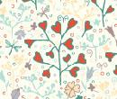 Tw2041 - Decorated wallpaper