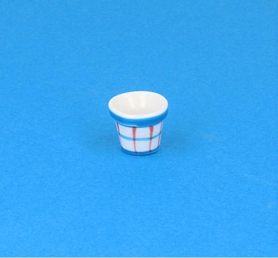 Cw1603 - Maceta de porcelana