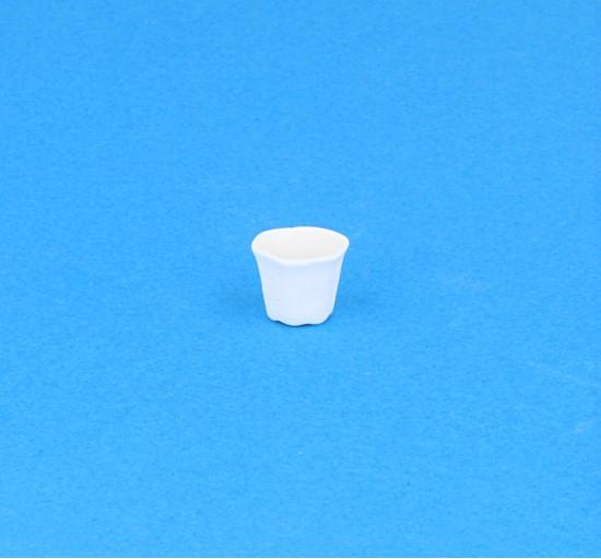 Tc2156 - Maceta de porcelana