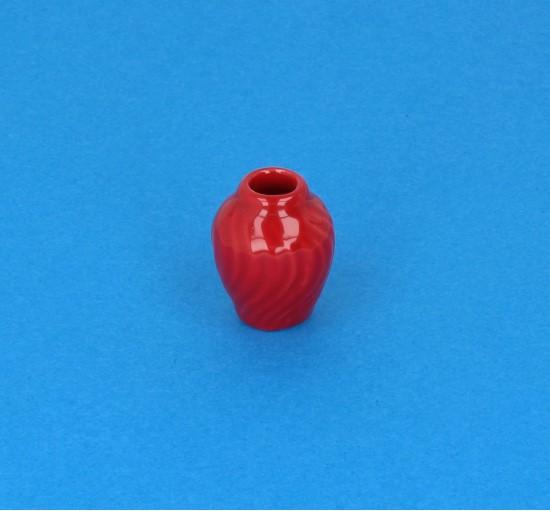 Cw1037 - Jarrón rojo