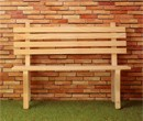 Mb0417 - Unpainted garden bench