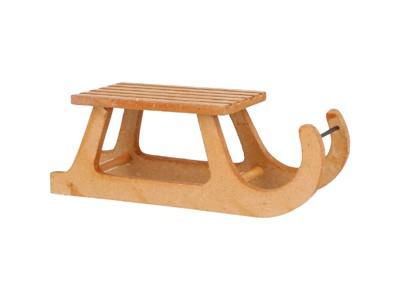 Ou0006 - Trineo de madera
