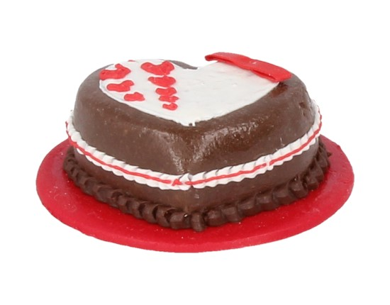 Sm0333 - Tarta corazon de chocolate