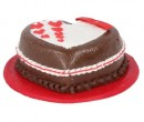 Tarta corazon de chocolate