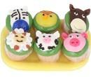 Sm2550 -  Bandeja con cupcakes