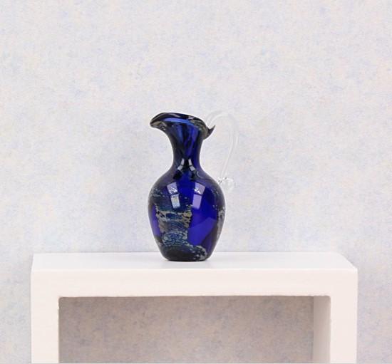 Tc0336 - Pichet décoration blue