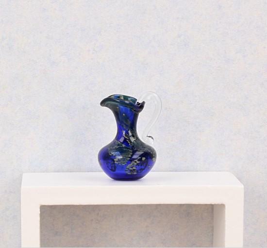 Tc0338 - Jarra decoración azul