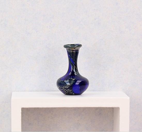 Tc0339 - Florero decoración azul