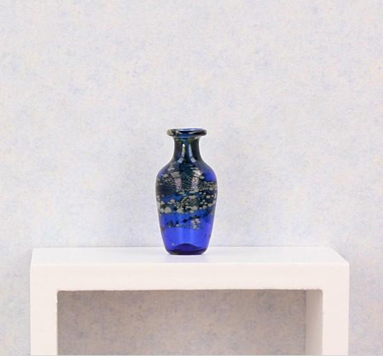 Tc0342 - Jarron decoración azul
