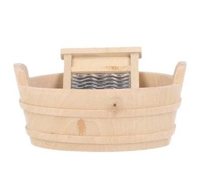 Tc1598 - Seau avec planche à laver