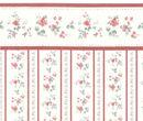 Carta da parati fiori rossi