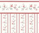 Br1015 - Papel flores rojas