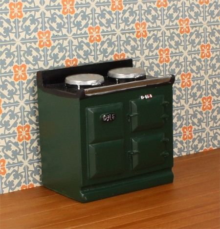 Mb0634 - Green stove
