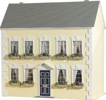Sa0142 - Puppenhaus Bernstein im Bausatz