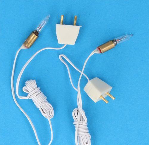 Sl8108 - Bombillas finas con casquillo y cable
