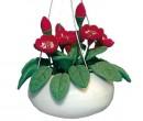 Ch36165 - Maceta colgante flores