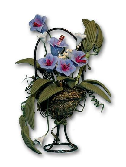 Ch36166 - Macetero con flores
