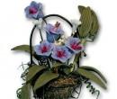 Ch36166 - Fioriera con fiori