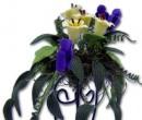 Ch36167 - Macetero con flores