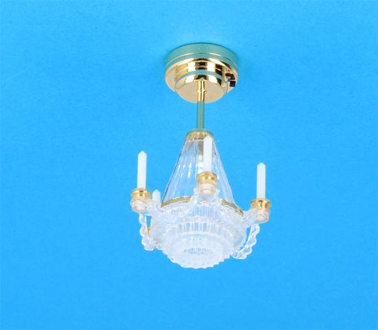 Sl4015 - Lámpara de techo con velas Leds