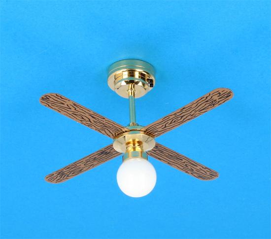 Sl4017 - Lámpara ventilador Leds