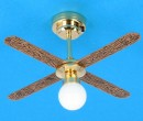Sl4017 - Ceiling LED fan/ lamp