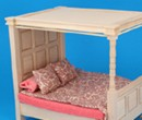 Mb0132 - Bed with a canopy