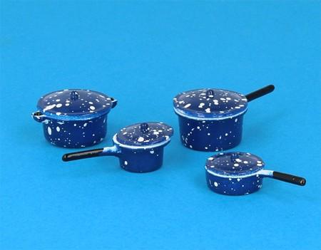 Tc1036 - Batterie da cucina blu