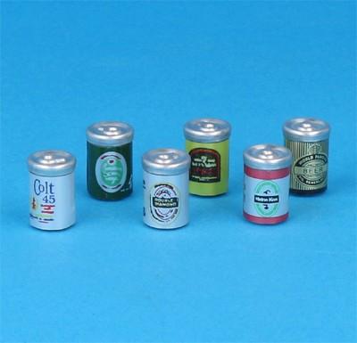 Tc2277 - Canettes de bière