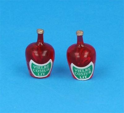 Tc2279 - Dos botellas de licor