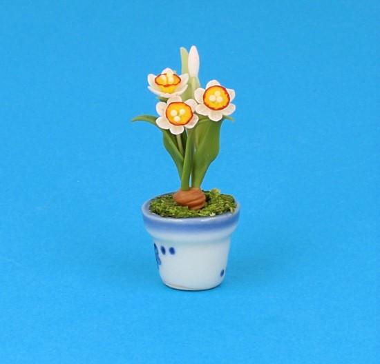 Sm4059 - Porcelain flowerpot