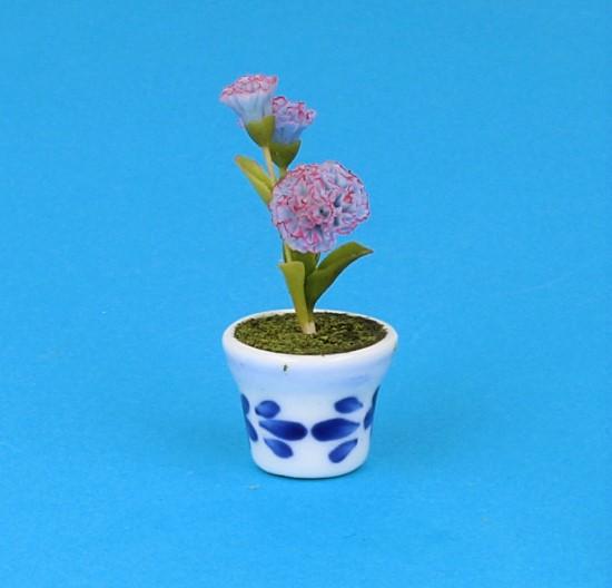 Macetas de porcelana en miniatura tienda de casitas - Macetas de porcelana ...