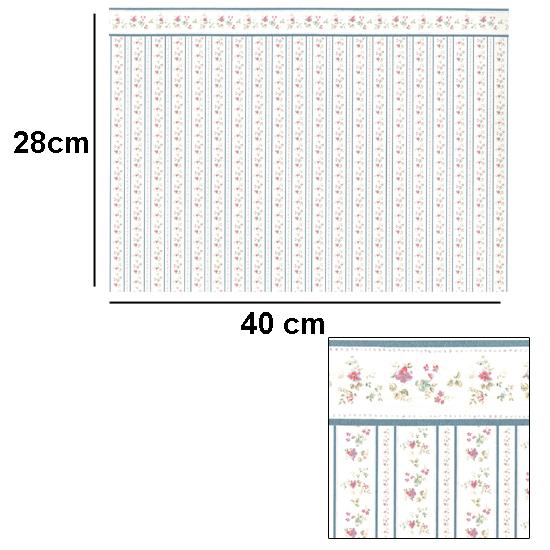 Br1021 - Papel de flores