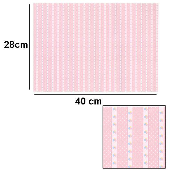 Br1024 - Carta decorata rosa
