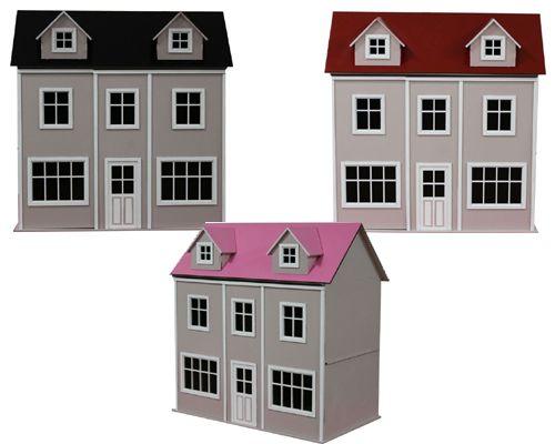 Case delle bambole dm21136 lisboa in kit di facile montaggio - Finestre in kit di montaggio ...