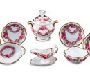 Re13856 - Tureen Roses Decoration