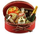 Re14096 - Basket with champagne