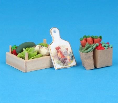 Re18155 - Caja de verduras