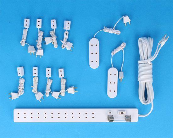 Sl8090 - Set regleta y alargaderas