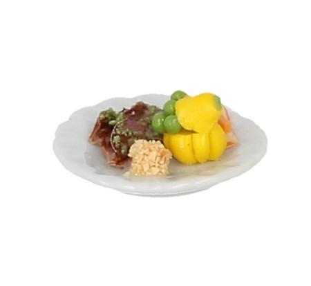 Sm3033 - Plato de carne con guarnicion