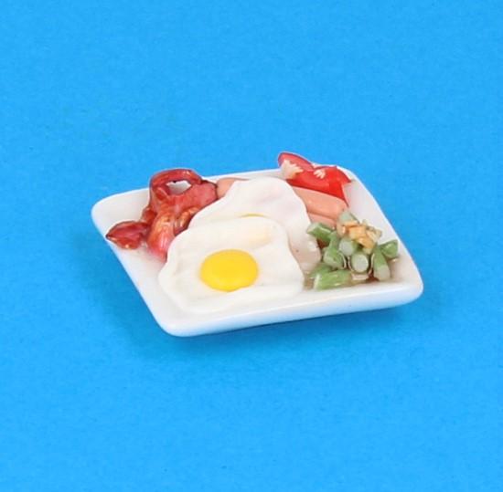 Sm3072 - Plato de comida