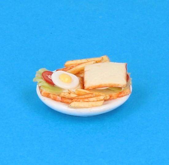 Sm3074 - Plato de comida