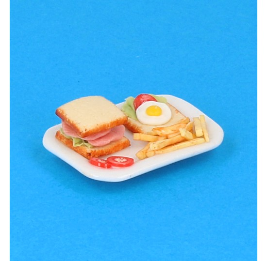 Sm3075 - Plate with food