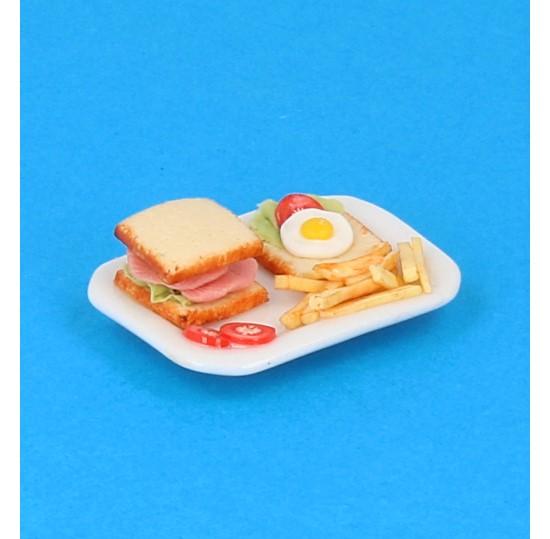 Sm3075 - Plato de comida