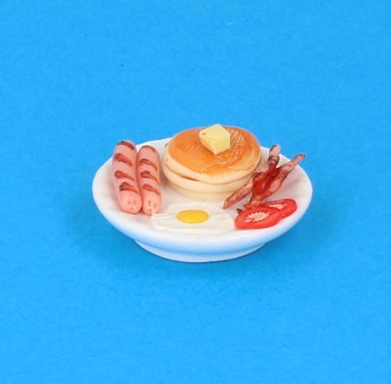 Sm3044 - Plato de comida